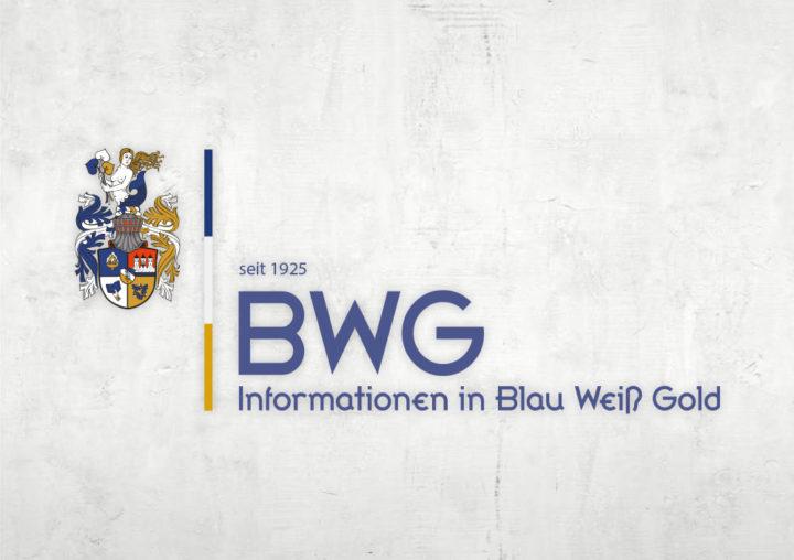 Informationen in Blau Weiß Gold